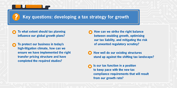 Tax strategy for tech businesses