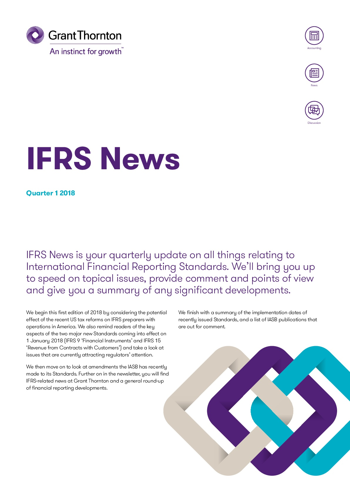GTIL IFRS News First Quarter 2018 Edition | Grant Thornton