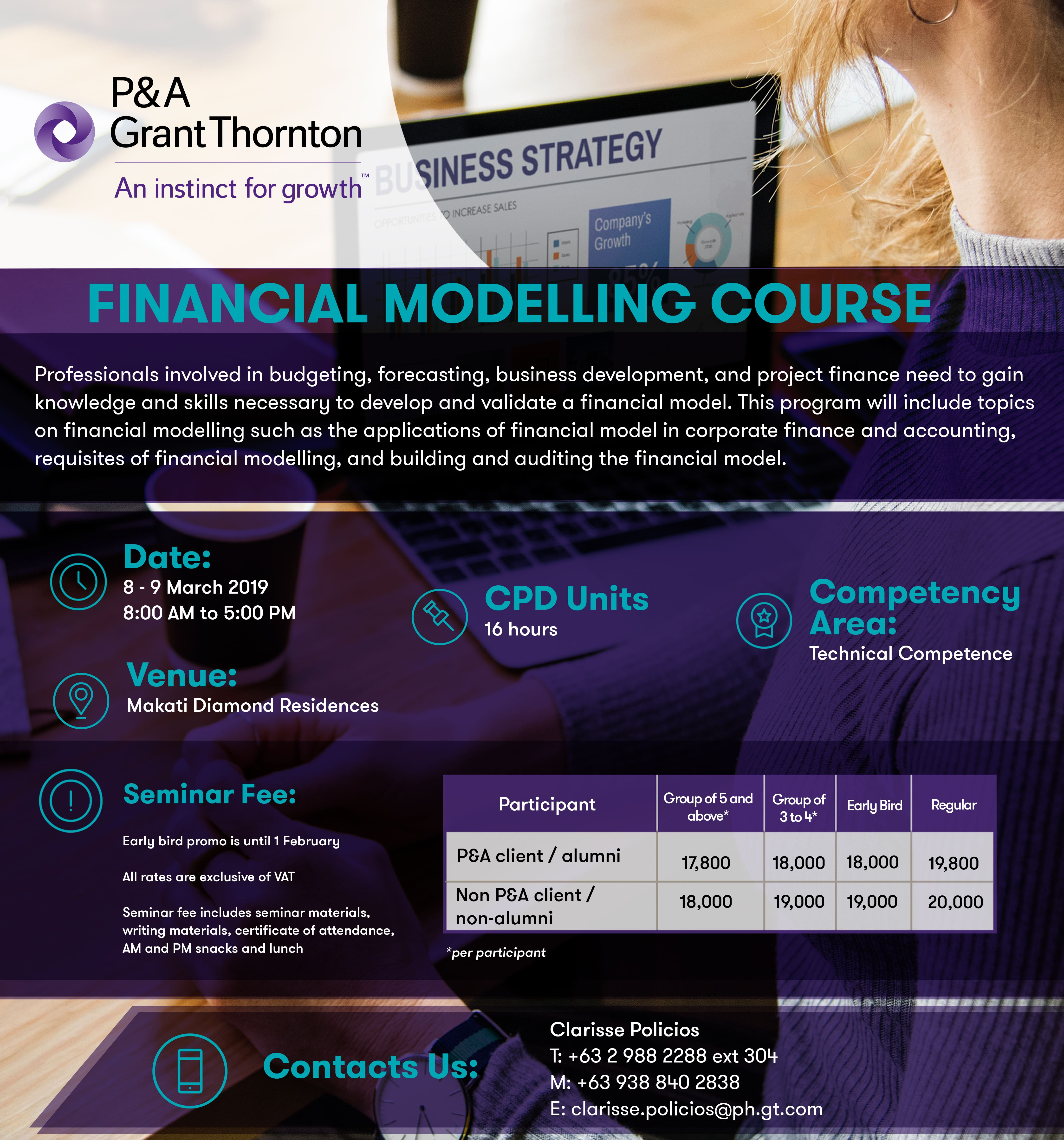 Financial Modelling Course | Grant Thornton